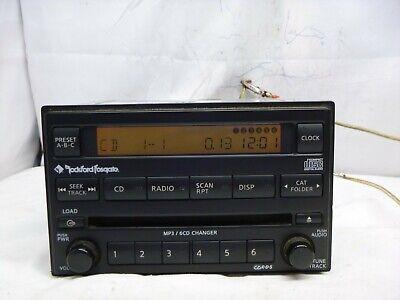05-06 CLARION 6 CD Mp3 MECHANISM for NISSAN INFINITI RADIO OEM