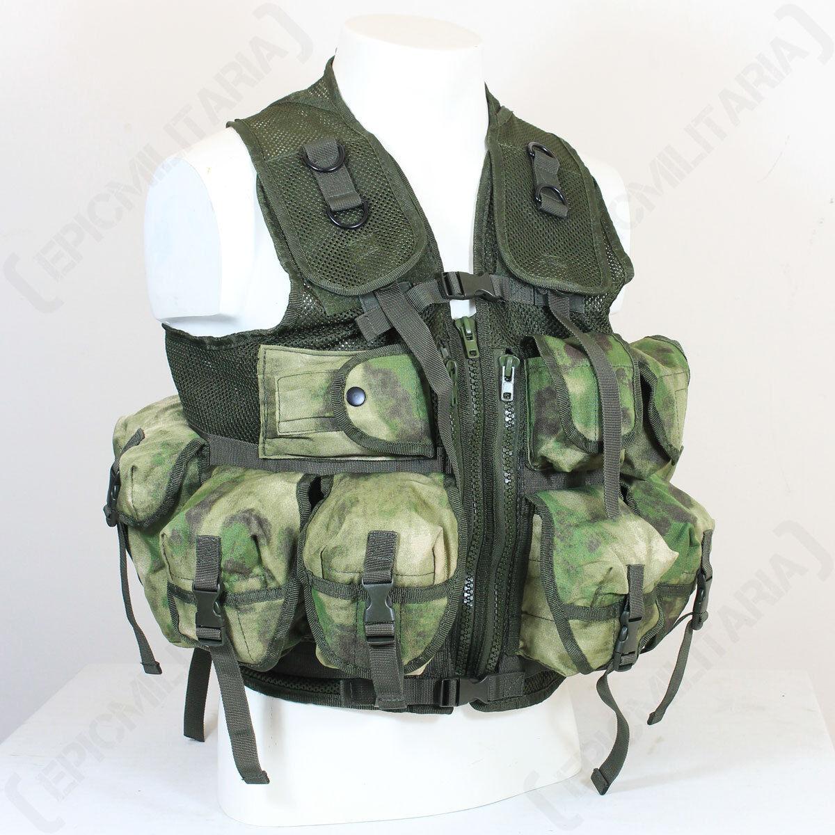 9 Poche Mil-Tacs FG Tactical Gilet - Assaut Combat Airsoft Paintball Cadets