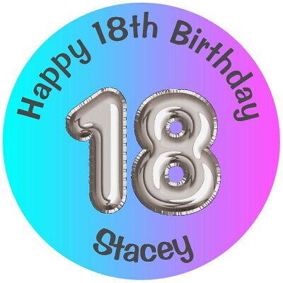 "18th Personalizzato Festa Di Compleanno Favore Etichette, Grazie Gloss Adesivi Qualsiasi Età-th Birthday Party Favour Labels,thank You Gloss Stickers Any Age "" Data-mtsrclang=""it-it"" Href=""#"" Onclick=""return False;"">"