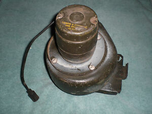 Military truck vehicle 24 volt heater motor robbins and for Robbins and myers replacement motors