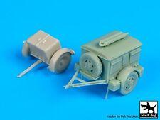 Black Dog 1/72 German Sd.Ah.32 Ammo & Sd.Ah.24 Generator Trailer Set WWII T72086
