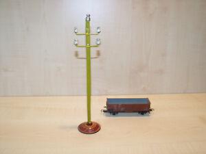 2805) BING uralt - Spur 0/1 - org. Telegrafenmast - H. 23,5 cm - ansehen