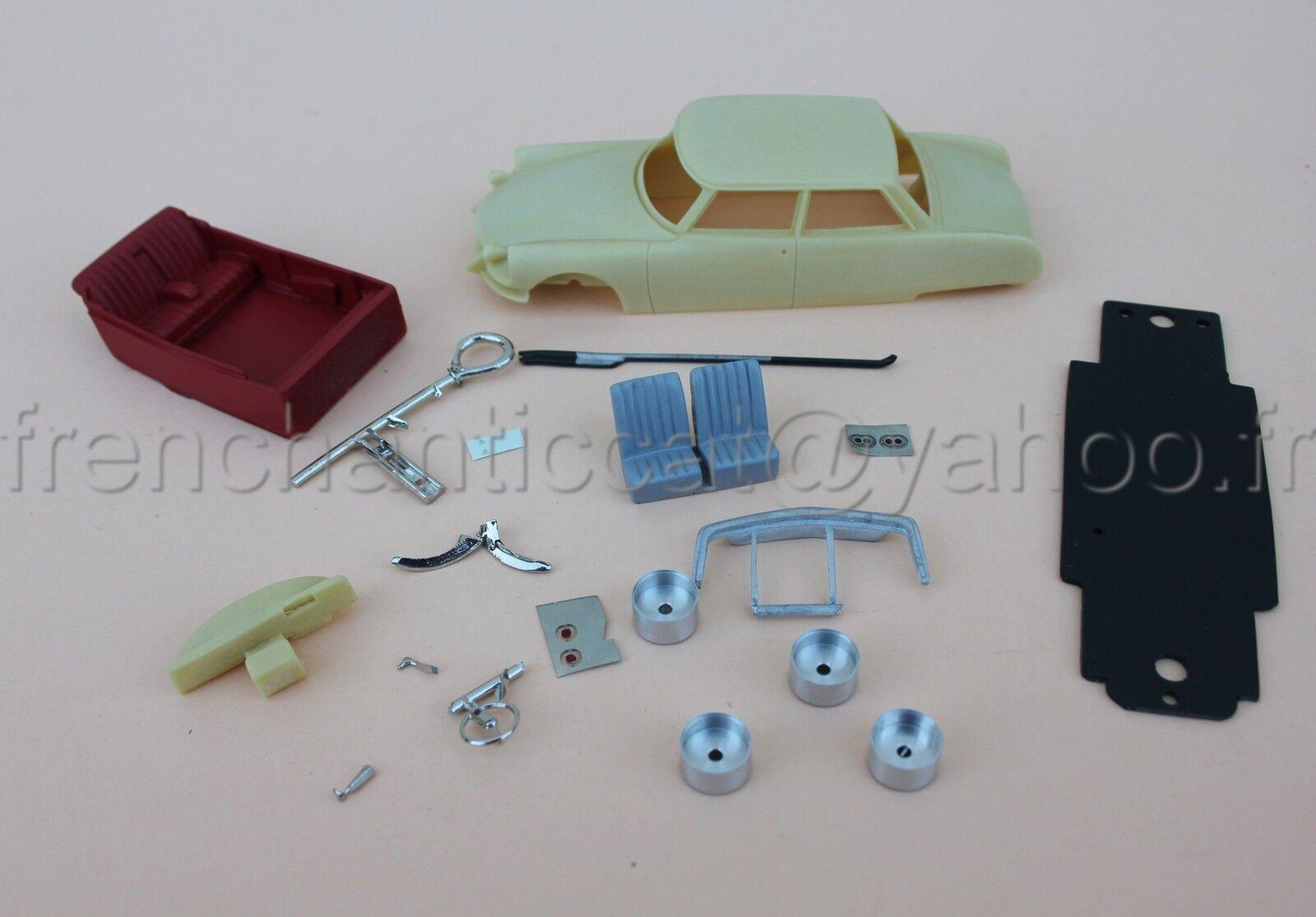 IU Rare voiture Citroën DS Chapron Le Dandy 1 43 Heco miniatures resine deco