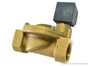Solenoid-valve-CEME-8616-NC-1-034-10-bar-with-coil-230V-50Hz