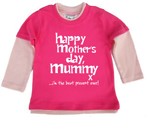 Dirty-Fingers-Happy-Mother-039-s-Day-Mummy-x-Baby-Girl-Skater-Top
