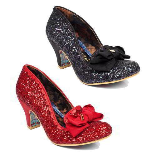 Irregular Choice rosso kanjanka da donna nero rosso Choice Scarpe Da Sera Tacco Alto Misura 8fd191