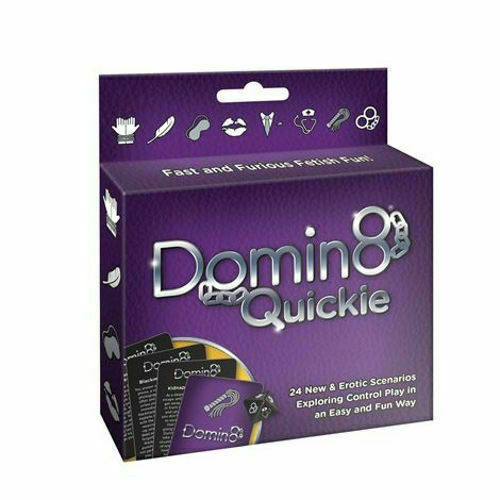 DOMIN8 QUICKIE CARD GAME Sex Adult Erotic GIFT DISCREET UK SELLER Quick