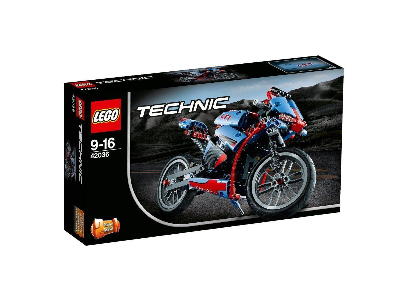 Lego ® Technic ™ 42036 routes MOTO neuf new neuf dans sa boîte En parfait état, dans sa boîte scellée