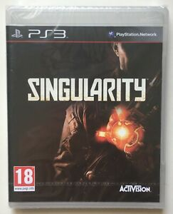 Singularity-PlayStation-3-Factory-Sealed-REGION-FREE-Sony-Strip-Brand-New