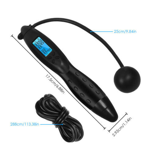 Exercise Digital Jump Rope Boxing Skipping Calorie Counter Fitness Sport Timer