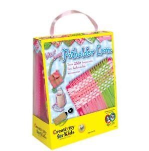 NEW-Faber-Castell-Creativity-for-Kids-Kit-Lot-039-s-O-039-Loops-Potholder-Loom-NIB