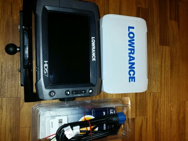 Lowrance HDS-7 Gen2 Touch Insight USA / HEAD UNIT ONLY with power plug