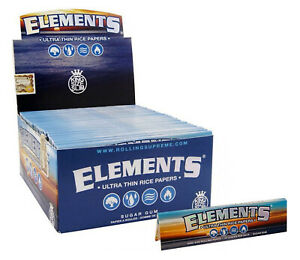 50-Elements-King-Size-Slim-Ultra-Thin-Rice-Rolling-Papers-110mm-Full-Box