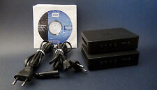 Western Digital Media Player Network Kit - WD Livewire / Kit CPL 8 ports - RARE