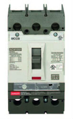 MOLDED CASE SHAMROCK CIRCUIT BREAKER ACW125P-FTU60-3 60 AMPS 3 POLE