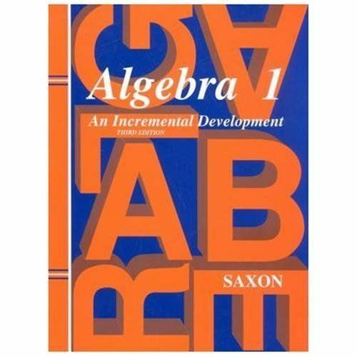 Saxon algebra 1 algebra 1 by john saxon 1997 hardcover revised saxon algebra 1 algebra 1 by john saxon 1997 hardcover revised student edition of textbook ebay fandeluxe Choice Image