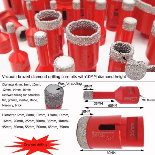10mm Diamond Holesaw Porcelain Ceramic Marble Granite Tile Drill Bits M14