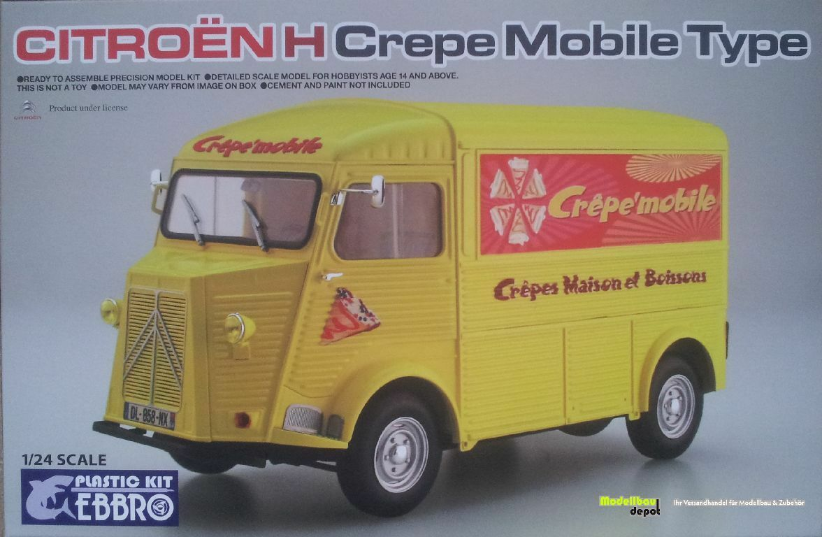 Ebbro 25010 Citroen H Crepe Mobile Type  1 24    Outlet