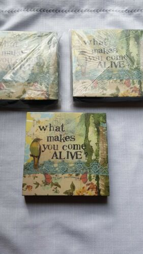 """Kelly Rae Roberts Collection Demdaco 2012 /""""Come Alive/"""" Stock# 102329"""