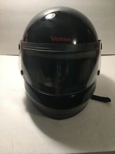 Vintage-Vetter-Helmet-Full-Face-Shield-mini-bike-motorcycle-snowmobile-Sz-7-1-4