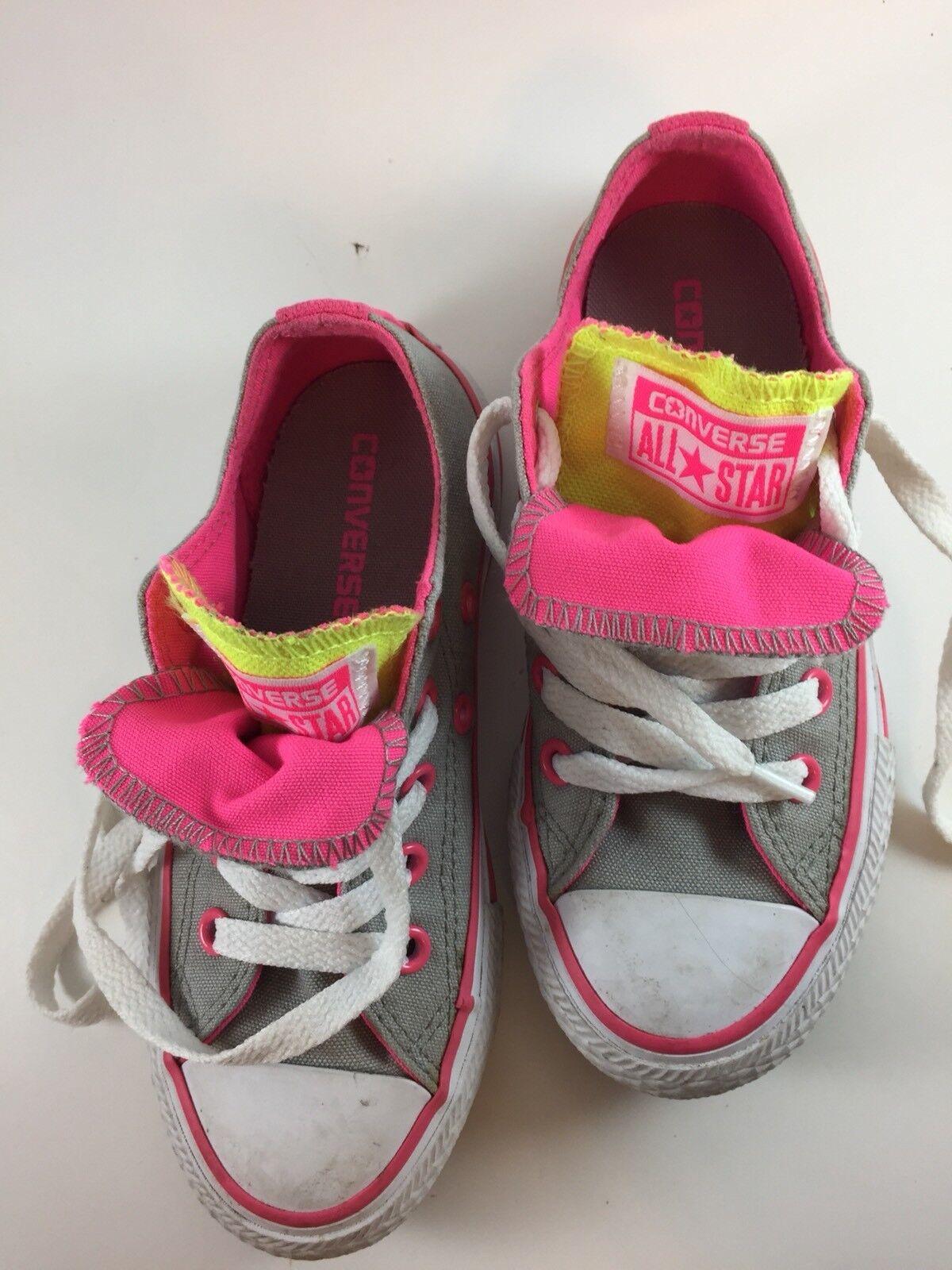 Converse 11 All Star Kids Size 11 Converse Girls Pink Gray ffed16