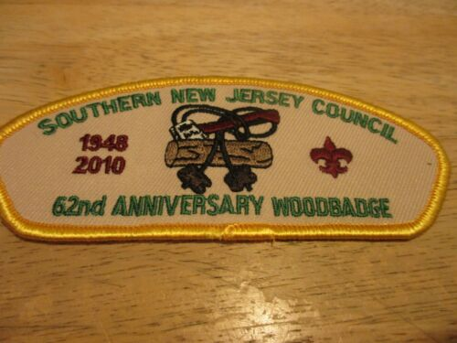 CSP  SOUTHERN NEW JERSEY COUNCIL  REDUCED $$  LOT #100   TA? 2010 WOODBADGE