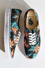 Vans Authentic Vintage Aloha Black True White Mens Shoes 5.5 Womens 7 Sk8