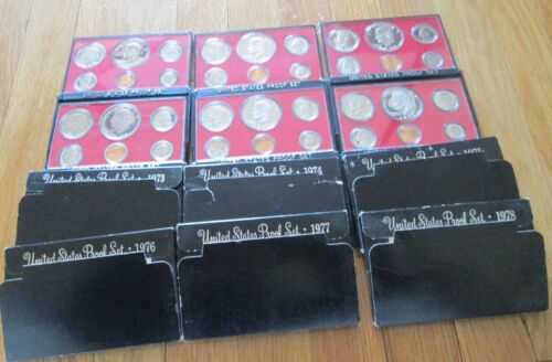 1973-1993 Proof Sets U.S Mint 21 Proof Set San Francisco Mint with COA