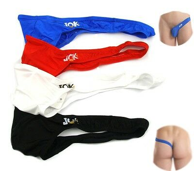 E Men's Sexy Brief Bikini G-string Thong Jock Underwear New Design Size M L XL