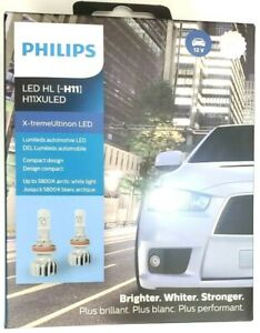 H11XULED Philips X-tremeUltinon LED - 2pk H11 Headlights 160% Brighter 11362XUX2