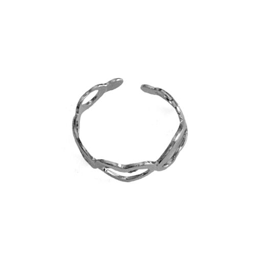 Silver Toe Ring Size Adjustable