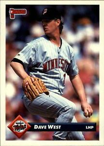 Details About 1993 Donruss Baseball Card Pick 501 750