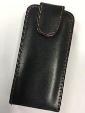 Sony Ericsson Vivaz U5a, U5i Kurara Fitted Leather Flip Wallet Case ALC654 B/New