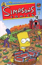 SIMPSONS COMICS #50 NEAR MINT (1st SERIES 1993)  80 PAGE GIANT