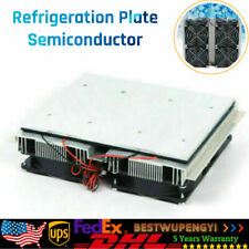 Refrigeration Plate Cooler Semiconductor Peltier Cold Cooling Fan 240w Brand New