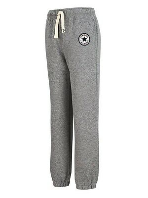 CONVERSE All Star Boys Knit Joggers Trousers Boys Grey 13-15 years BNWT
