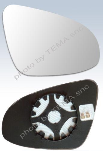 Specchio retrovisore TOYOTA Yaris dal 09//2011 vetro su piastra DX destro termico