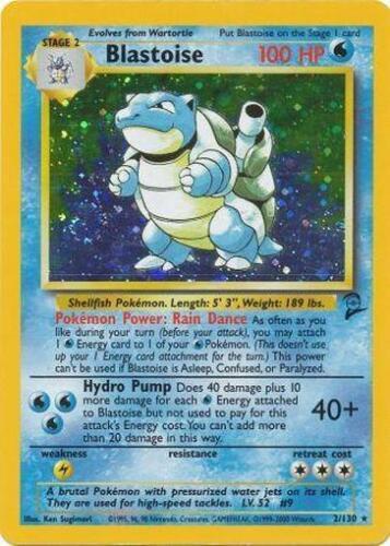 Pokemon cards Base set 2 RARE HOLO Blastoise, Alakazam, Charizard, Venusaur etc