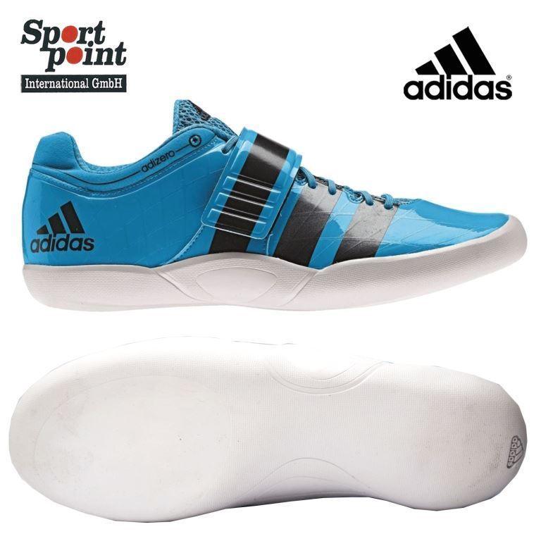 Adidas Shotput 2 Diskus Hammerwurf Schuhe Rotational Leichtathletik 40,5 Neu