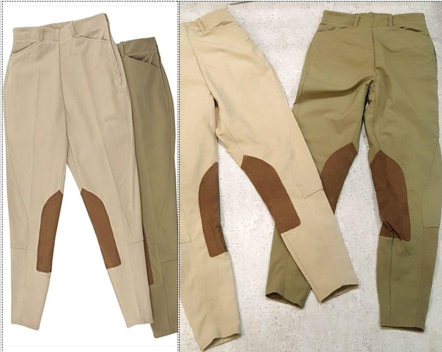 Ariat side zip jodhpur riding pants 24 L  Long (2 pair) Pro series Jodhpurs