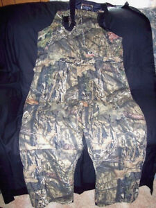 843e76763191f Mens 2X Mossy Oak Country Camo Bibs Insulated Hunting Bib Overalls ...