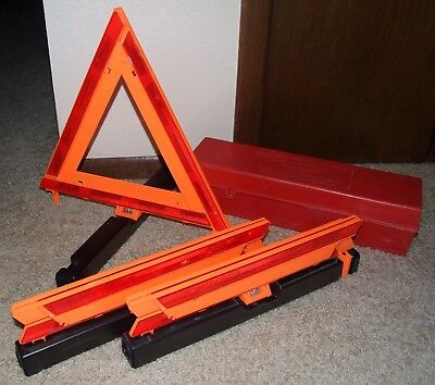 James King 1005-1 Warning Triangle, Set of 3