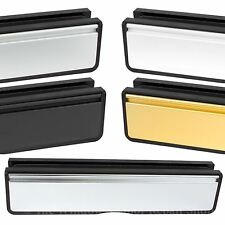 Doormaster Letter Box Letter Plate Set for UPVC PVC Composite and Wood Doors