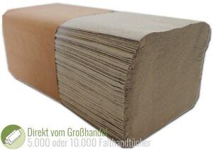 5000-10000-Blatt-Falthandtuecher-Papierhandtuecher-25x23cm-Handtuchpapier-1-lagig