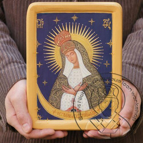 Virgin Mary Gate of Dawn Ostra Brama Byzantine Art Religious Icons Gift