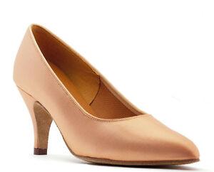 Chair Foncé Ou Blanc Latin Salle De Ball Chaussures Danse 6.3cm 7.6cm Topline Tc