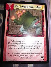 HARRY POTTER GAME TCG CHEMIN DE TRAVERSE DUDLEY LE DODU COCHON 65/80 COM FR NEUF