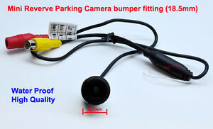 MiNi-Night-Rear-View-Parking-Reversing-Bumper-Colour-Camera-with-guide-line-PAL