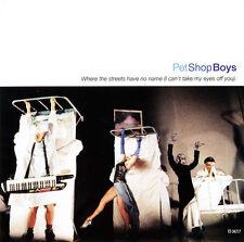 "PET SHOP BOYS Where the Streets Have No Name w 12"" DANCE MIX CD U2 DAVID MORALES"