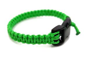 Handmade Paracord Bracelet Black Micro Cord Bracelets U.S Seller